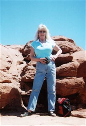 Cathy in Sedona